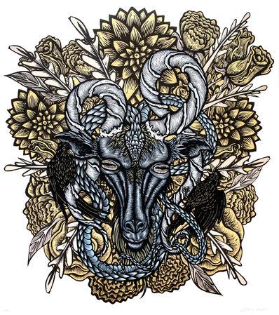 Dennis McNett, 'Winter Deity (Silkscreen Print)', 2013