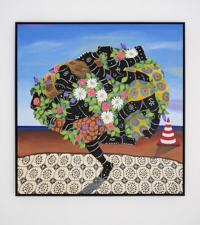 Kelechi Nwaneri, 'Portrait of a human brain ', 2020