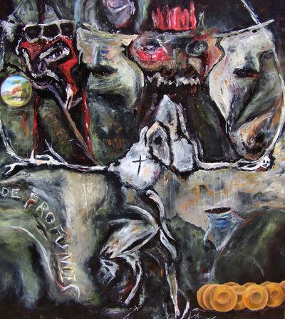 Miroslav de la Torre Kozorez, 'El arte en platos / The art in dishes', 2019