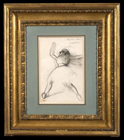 Edgar Degas, 'Dancer (Préparation en dedans)', ca. 1885