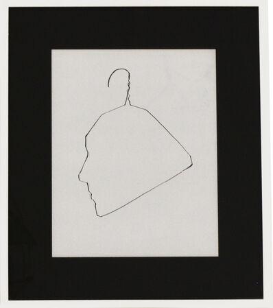 Ai Weiwei, 'Profile of Ethan Cohen', 1984