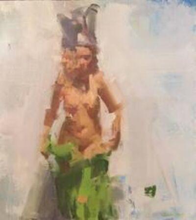 David Shevlino, 'Mel in Green', 2015