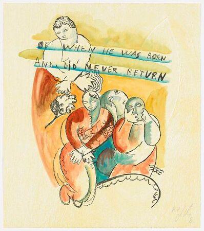 Sandro Chia, 'Surprising Novel Suite of 7 prints', 1989