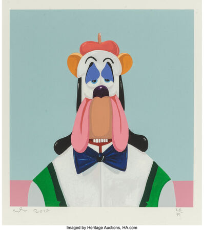 George Condo, 'Droopy Dog Abstraction', 2017