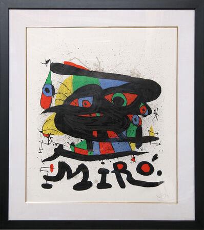 Joan Miró, 'Walker Art Center', 1971