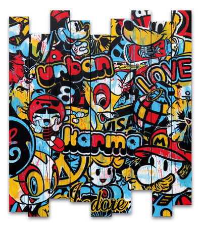Speedy Graphito, 'URBAN KARMA', 2016