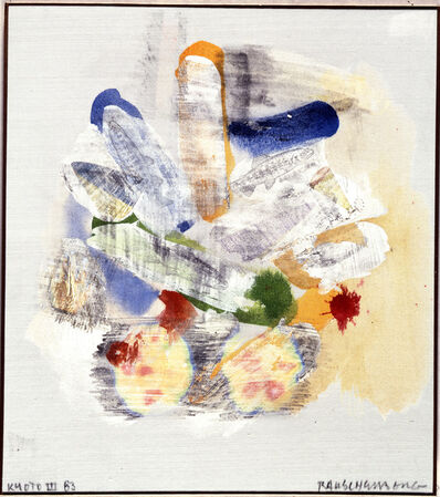 Robert Rauschenberg, 'Kyoto III', 1983