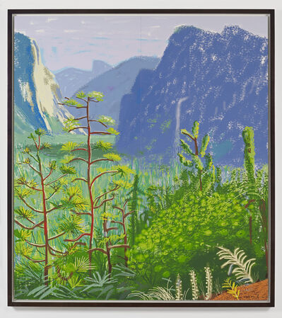 David Hockney, 'Yosemite 1, October 16th 2011', 2011