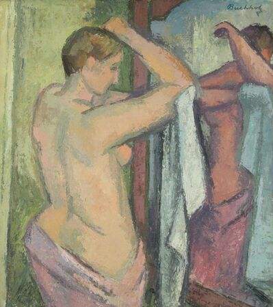 Frederick Buchholz, 'Nude in a Mirror', ca. 1935