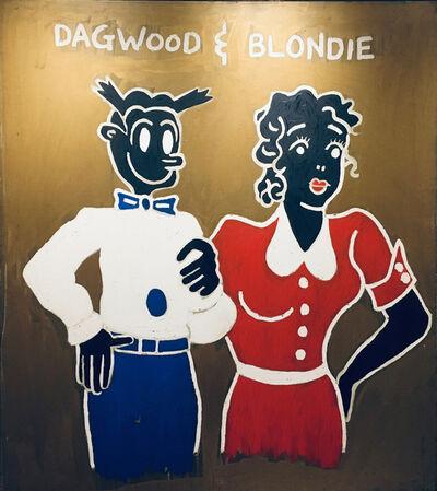 Suzanne Mallouk, 'Dagwood & Blondie', 1985