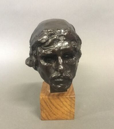 Auguste Rodin, 'Tête de Saint Jean-Baptiste', 1880