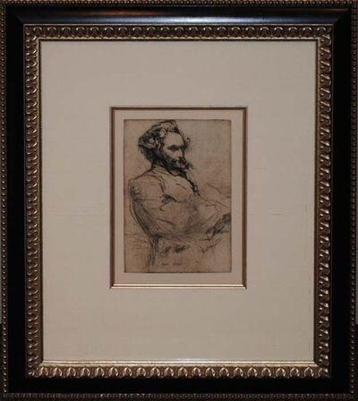 James Abbott McNeill Whistler, 'Drouet', ca. 1859