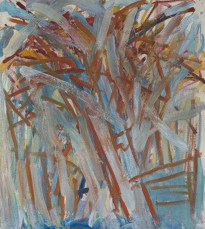 Dennis Creffield, 'Apple Tree with Ladder in Angelica Garnett's Orchard', 1982