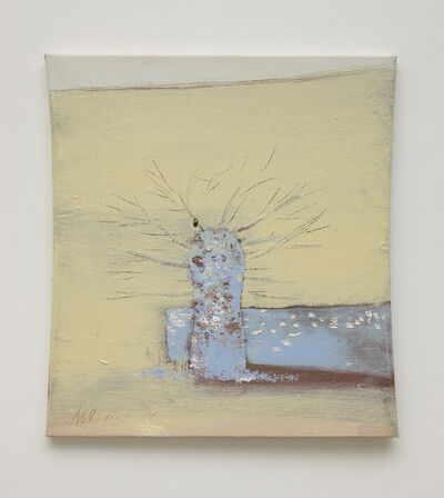 Merlin James, 'Tree and Wall', 2014