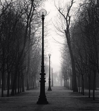 Michael Kenna, 'Tuileries Gardens, Study 4, Paris, France', 1987