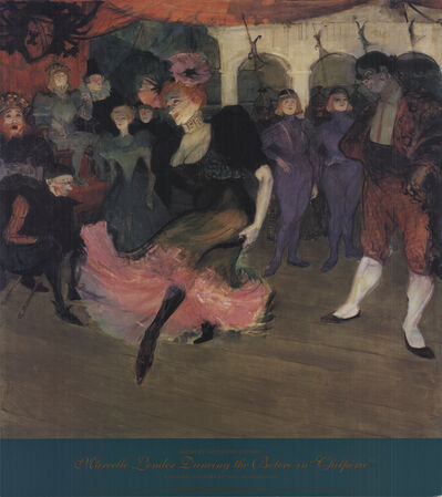 Henri de Toulouse-Lautrec, 'Marcelle Lender Dancing the Bolero in Chilperic', 1990