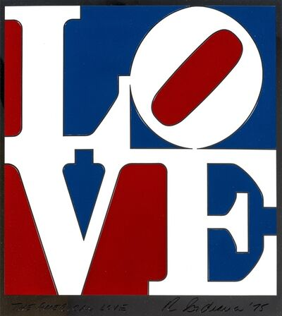 Robert Indiana, 'American Love', 1975