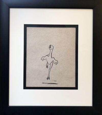 François Pompon, 'Dancing Featherless Chicken No.1', ca. 1920