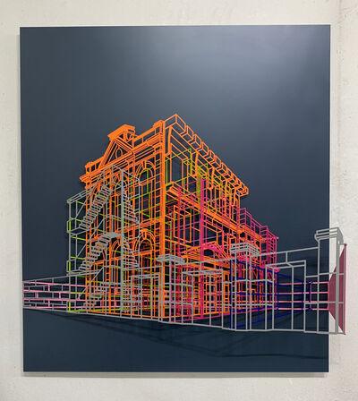 Byungjoo Kim, 'Ambiguous wall-Facade#2 13', 2019