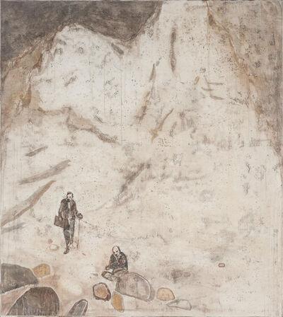Wang Yabin, 'Two Artists', 2014