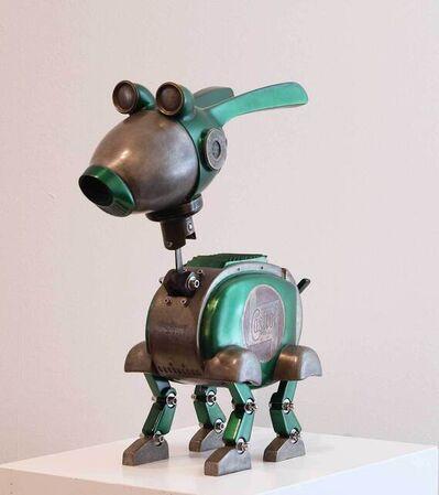 Stéphane Halleux, 'Robotpet Castrol', 2021
