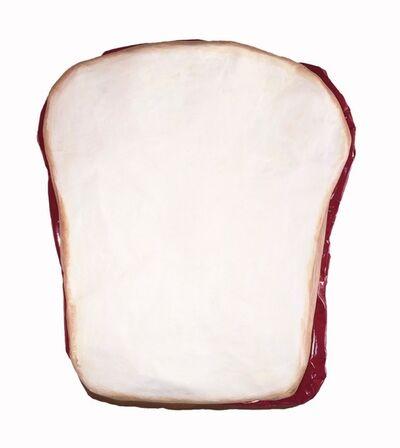 Coco Hall, 'Peanut Butter & Jelly Sandwich on White Bread', 2016