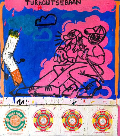 Thom Trojanowski Hobson, 'Fags on Turnhoutsebaan', 2016