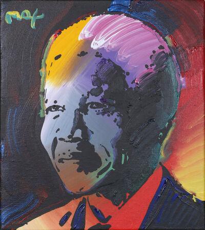 Peter Max, 'Nelson Mandela 2', 2001