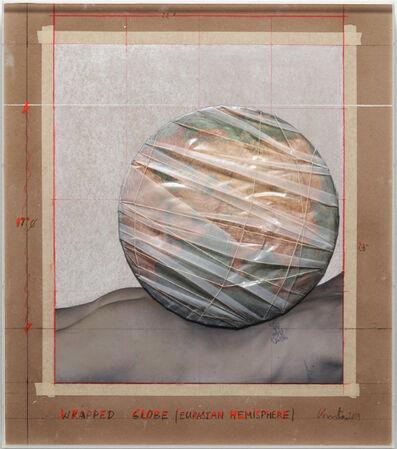 Christo, 'Wrapped Globe', 2019