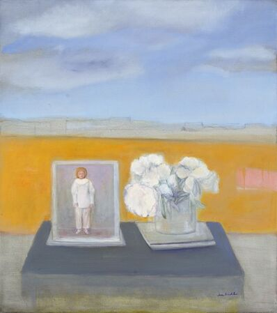 Jane Freilicher, 'Pierrot and Peonies', 2007