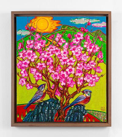 Kim Yongchul, 'Plum Blossom and Birds', 2019