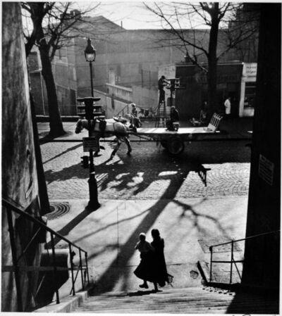 Willy Ronis, 'Avenue Simon Bolivar', 1953