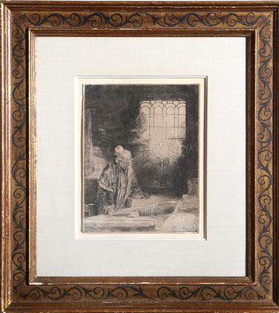 Rembrandt van Rijn, 'Faust', ca. 1770