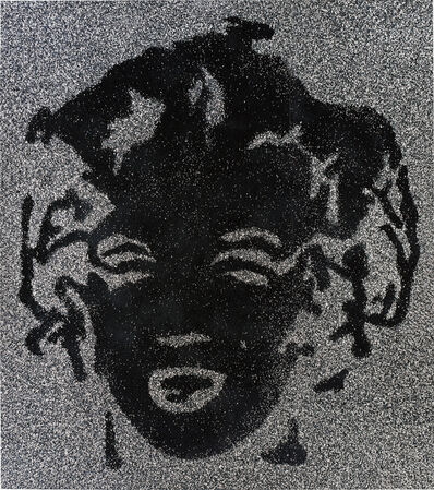 Vik Muniz, 'Reversal Black Marilyn', 2003