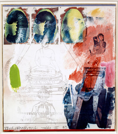 Robert Rauschenberg, 'Thai II', 1983