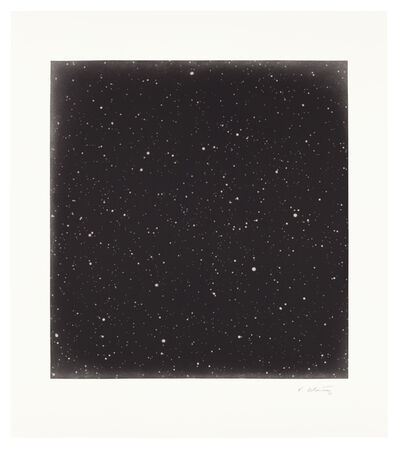 Vija Celmins, 'Untitled (Dark Sky 3)', 2016