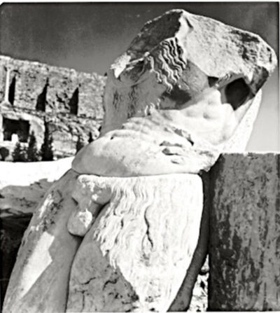 Herbert List, 'Torso of a Silenus', 1937