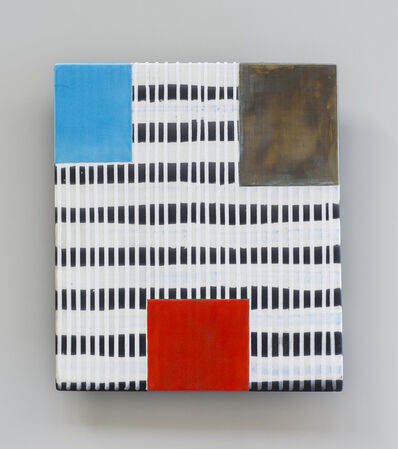Jun Kaneko, 'UNTITLED (RAKU WALL SLAB)', 2015