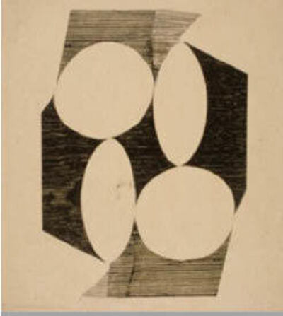Lygia Pape, 'Weaving (Tecelar)', 1958