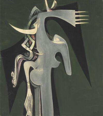 Wifredo Lam, 'Horse-Headed Woman ', 1950