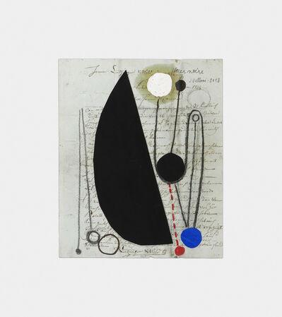 Julio Villani, 'fleur noire', 2018