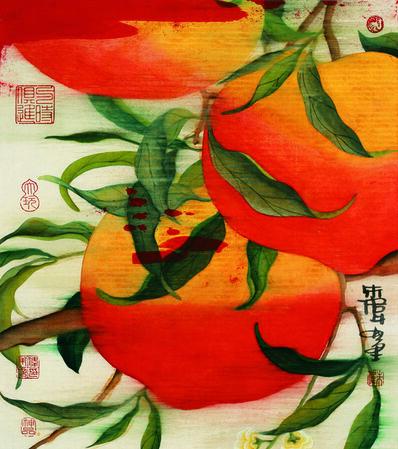 Zhu Wei 朱伟, '开春图册页之十三; Album of Vernal Equinox, No. 13', 2011
