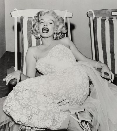 Frank Worth, 'Marilyn Monroe in a Deckchair', 1954-2004