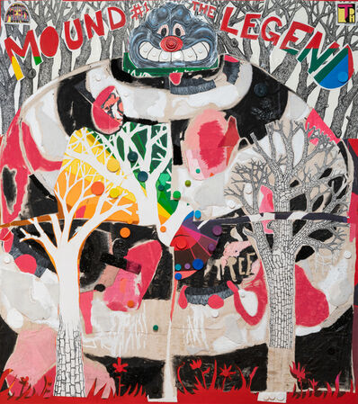 Trenton Doyle Hancock, 'Mound #1, The Legend and the Exposed Nerve, 2019', 2019