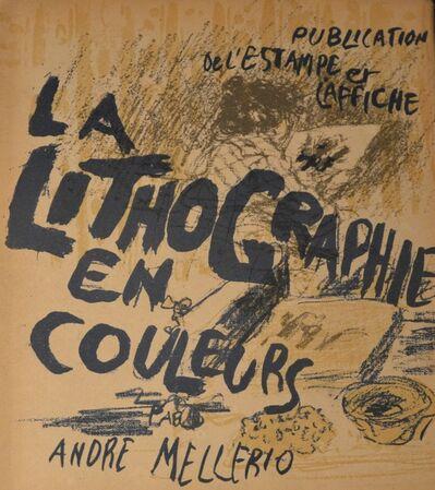 Pierre Bonnard, 'La Lithographie en Couleurs', 1898