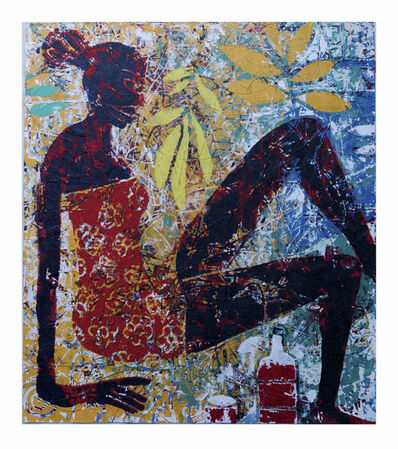 Gerald Chukwuma, 'NAKED TRUTH: RED RED WINE', 2019