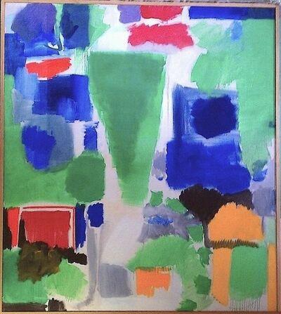 Fred Mitchell (b. 1923), 'Walk on Green', 1963