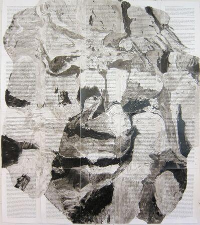 """Art & Language, '""""A SHADOW ON THE TONGUE I""""', 1988"""