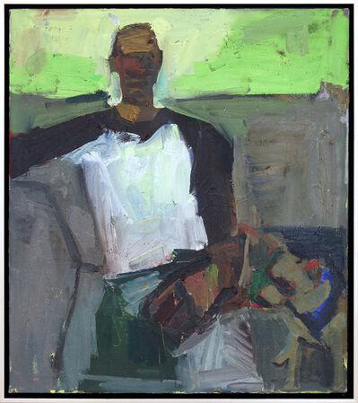 Jennifer Pochinski, 'Man with Dog, Hand', 2015
