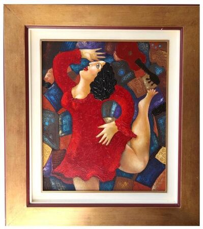 "CHINIKOV, 'Oil on Canvas ""Dancer"" by Chinikov', 2000s"